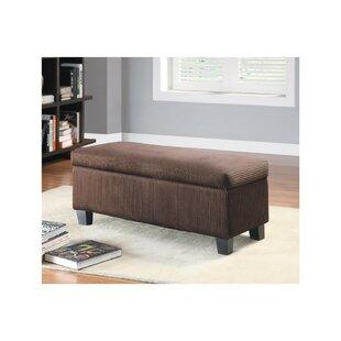 Red Barrel Studio Hiebert Lift-up Upholstered Storage Bench