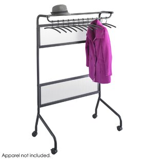 Mobile Clothes Rack By Symple Stuff