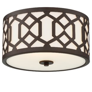Wheless 3-Light Outdoor Flush Mount by Willa Arlo Interiors