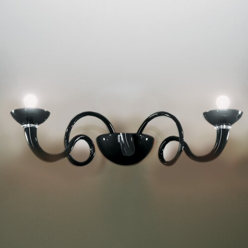 Venexiana 2-Light Candle Wall Light Artemide Size: 72 cm D
