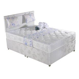 Jonny Ortho Capri Reflex Foam Divan Bed By 17 Stories