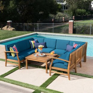 Turlock 8 Piece Sectional Set with Cushions