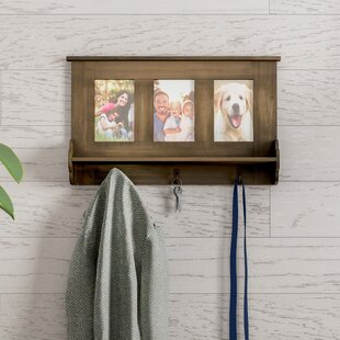 Wall Shelf With Picture Frames Wayfair