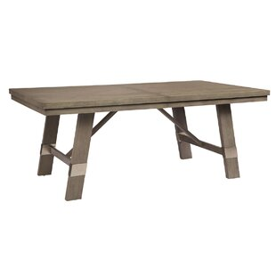 Pingree Extendable Solid Wood Dining Table Brayden Studio