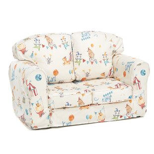 Feld Animal Camp Circus Children's Sofa By Zoomie Kids