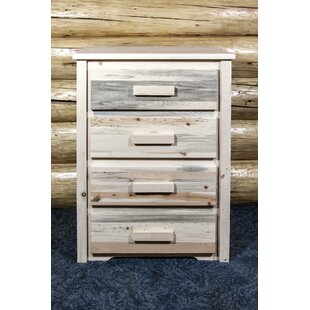Abella 4 Drawer Standard Dresser/Chest