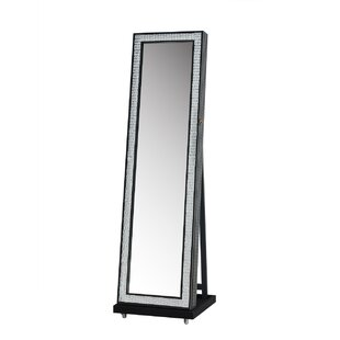 Great choice Jewelry Armoire with Mirror By Jeco Inc.