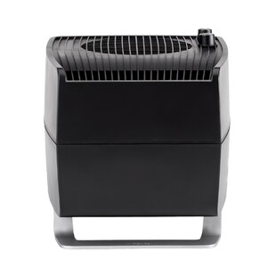 Companion 1.6 Gal. Warm Mist Evaporative Tabletop Humidifier