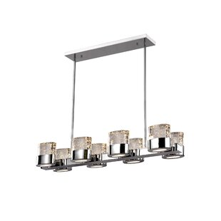 CWI Lighting Emmanuella 8-Light Kitchen Island Pendant