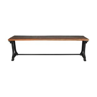 Williston Forge Risley Metal Bench