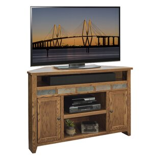 Oak Creek Corner TV Stand for TVs up to 55