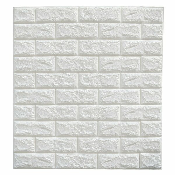 Hopson 24 L X W Embossed Paintable 20 Panel And Stick Wallpaper