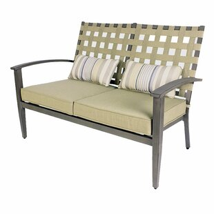 Loveseat With Cushion By Sol 72 Outdoor