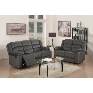 Fallon Reclining 2 Piece Living Room Set (Set of 2) by Red Barrel Studio