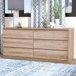 Kepner 6 Drawer Double Dresser by Zipcode Design