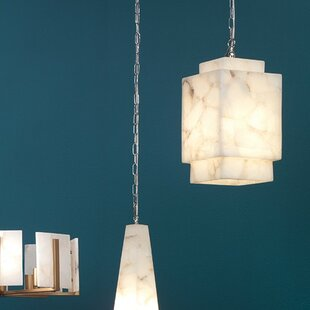 Saguache Cube 1-Light Square/Rectangle Pendant by Bloomsbury Market