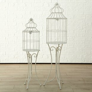 2 Piece Jagger Birdcage Set By Lily Manor