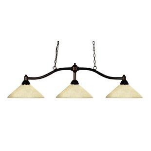 Fleur De Lis Living Beecroft 3-Light Pool Table Lights Pendant