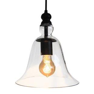 Warehouse of Tiffany Marlowe 1-Light Bell Pendant