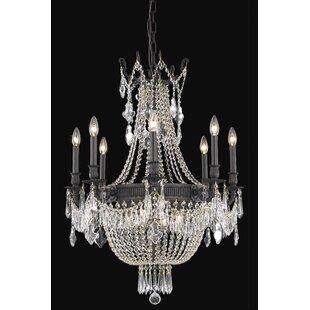 Ursula 12-Light Chain Empire Chandelier by Astoria Grand