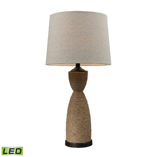 Lovett Wrapped Rope 1 Light LED 32 Table Lamp