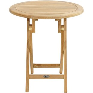 Longford Folding Teak Bistro Table By Sol 72 Outdoor