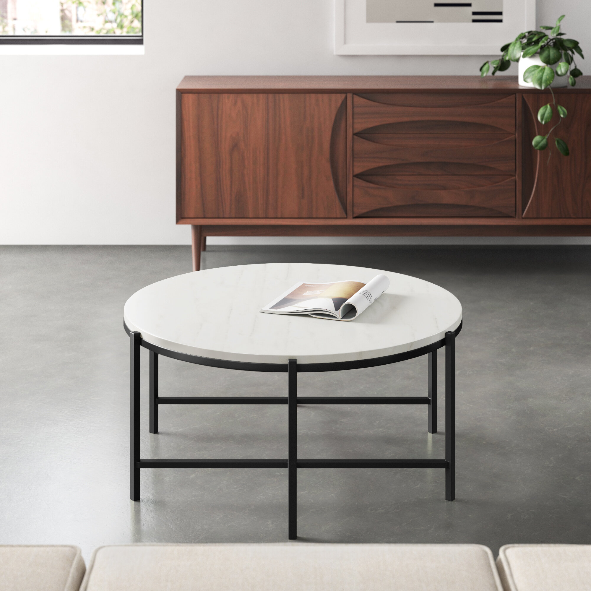 Picture of: Genuine Marble Coffee Tables You Ll Love In 2020 Wayfair
