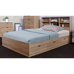 Dockery Luxurious Chest Platform Bed with 3 Drawers by Latitude Run