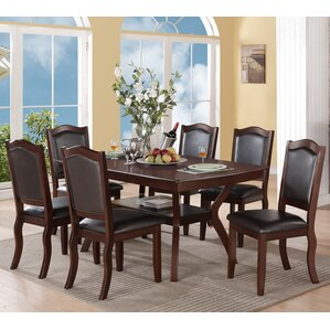 Charles 7 Piece Dining Set by A&J Home..