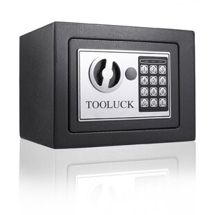 Digital Security Safe Box Fashion Black