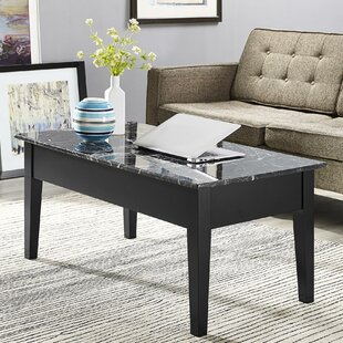 Carterville Lift Top Coffee Table with St..