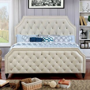 Lirette Contemporary Upholstered Panel Bed by House of Hampton