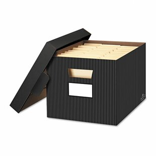 Store/File Decorative Storage Box (Set Of 4)
