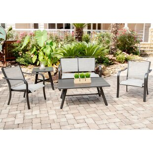 Gayden 5 Piece Sofa Seating Group with Sunbrella Cushions by Charlton Home