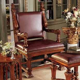 Lord Cumberland's Throne Armchairs by Design Toscano