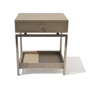 Brayden Studio Peele 1 Drawer Nightstand