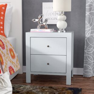Latitude Run Brennen 2 Drawer Nightstand