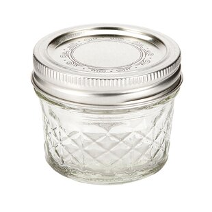 Glass 0.12 qt. Canning Jar (Set of 12)