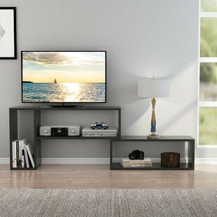 Buy clear Frisch TV Stand for TVs up to 43 by Ebern Designs Reviews (2019) & Buyer's Guide