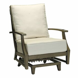 Croquet Lounge Patio Chair with Cushions