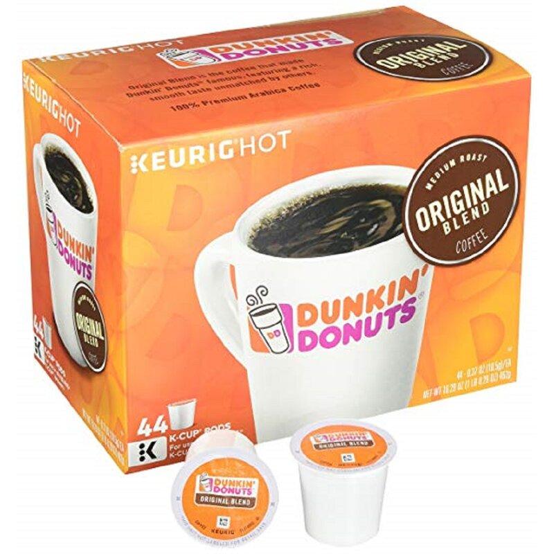 dunkin donuts dark k cups box