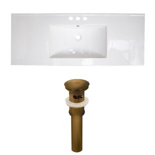 Compare & Buy Ceramic 49 Single Bathroom Vanity Top ByAmerican Imaginations