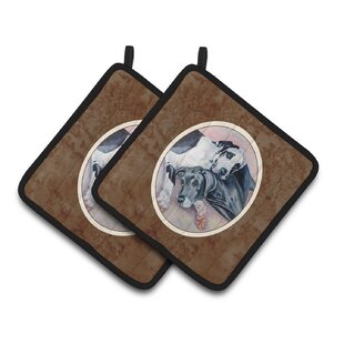 Great Dane Potholder Set Of 2