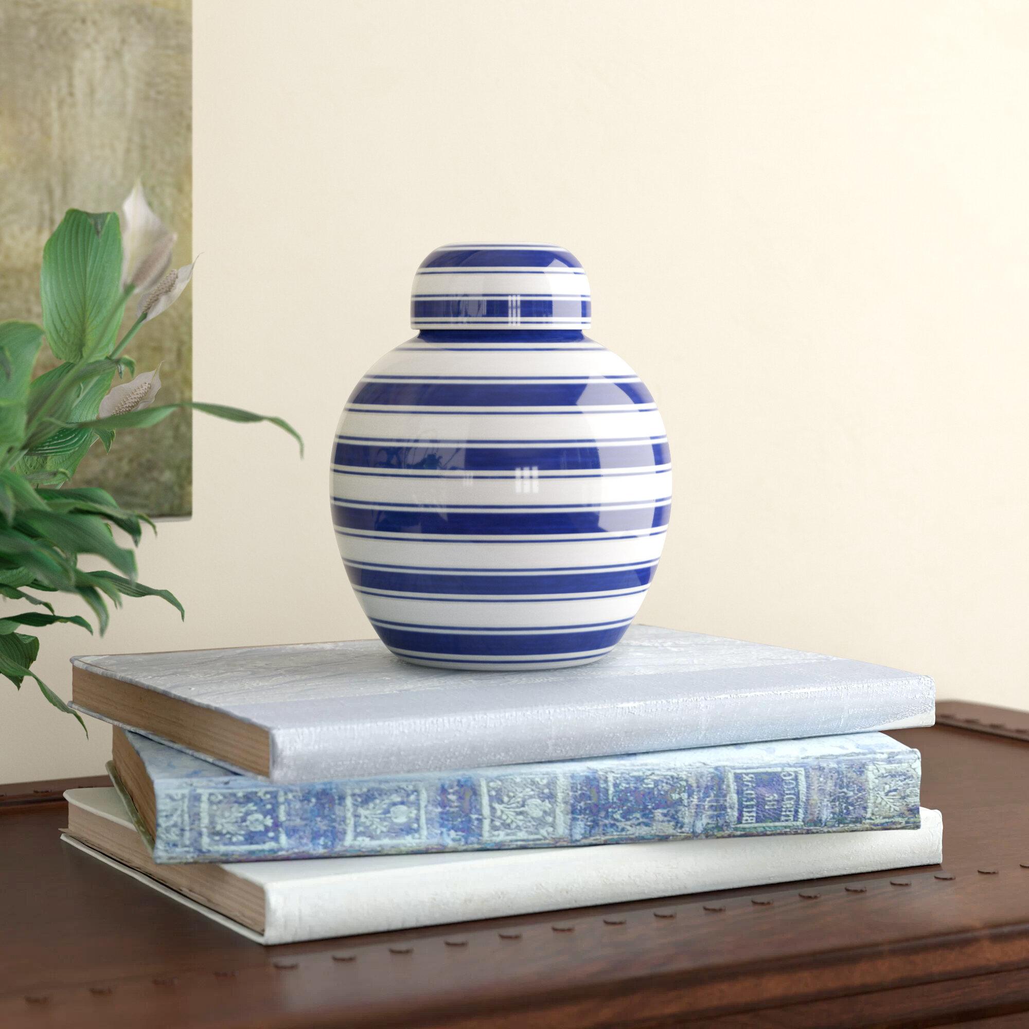 Striped Urns Jars Vases Urns Jars Bottles You Ll Love In 2021 Wayfair