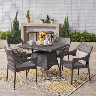 Wrought Studio Trumbull 5 Piece Dining Set