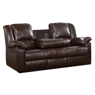 Red Barrel Studio Arely Leather Reclining..