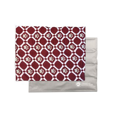 Xxl Paw Bone Cooling Mat Set Of 4 Akc Color Red