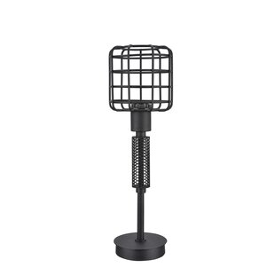 Cristen Wire Cage Metal 18 Table Lamp
