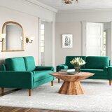 Mathais 2 Piece Living Room Set by Mercer41