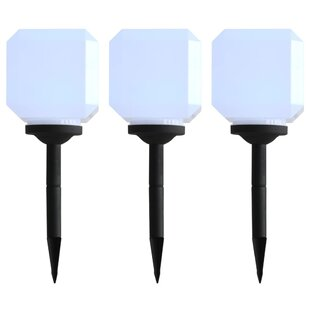 1 Light LED Pathway Light (Set Of 3) By Sol 72 Outdoor